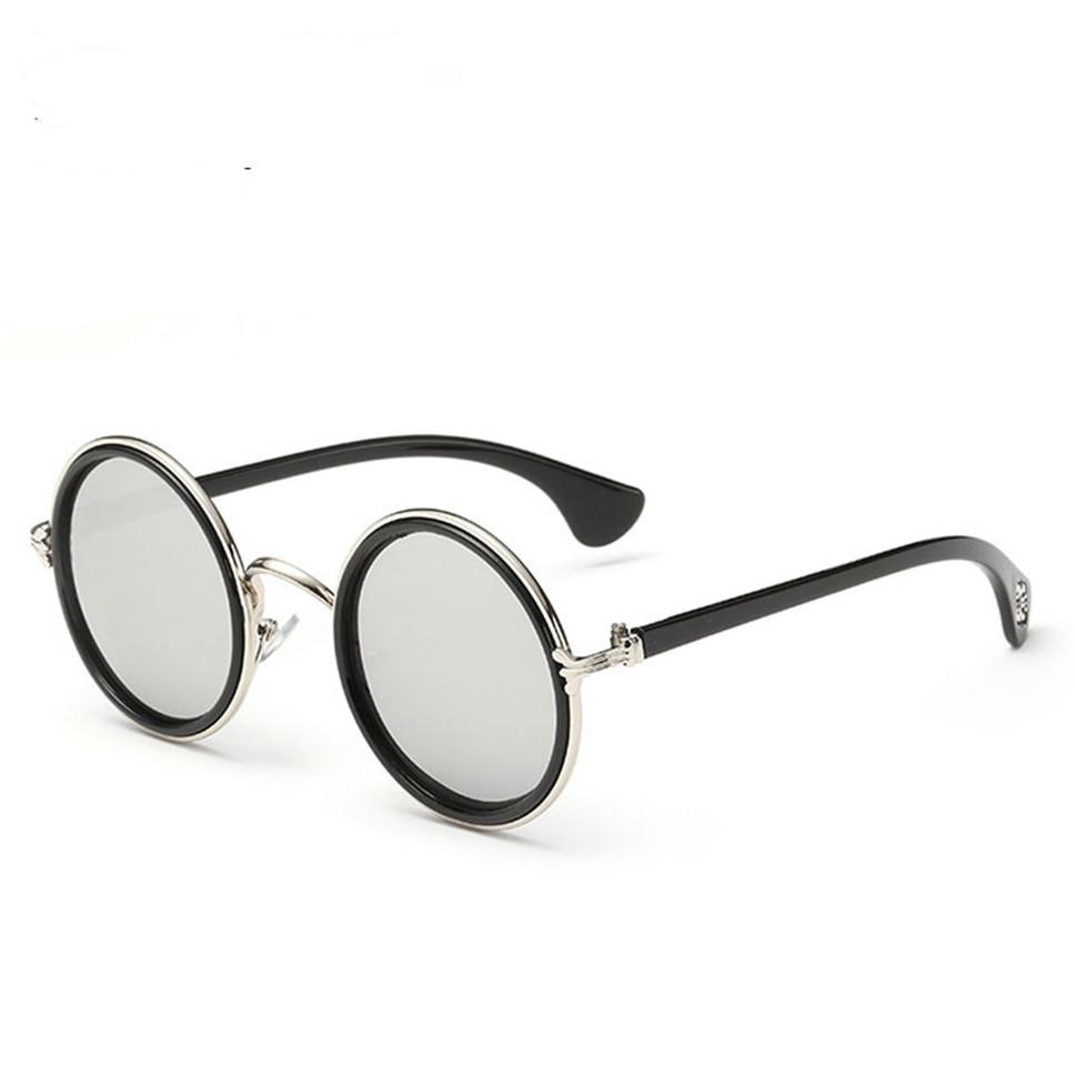 Free shipping 2016 New Fashion glasses Women men Fashion retro roundness colours Sunglasses summer BB103(China (Mainland))