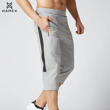 Buy 2017 New Arrival 3/4 Men Running Pants Cotton Zip Soccer Training Pants Breathable Gym Jogging Fitness Leggings Pants Trousers L for $15.36 in AliExpress store