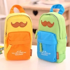 1 pc pencil box for children boy and girl cotton material very safety pencil case bag School bag design Deli 31718<br><br>Aliexpress