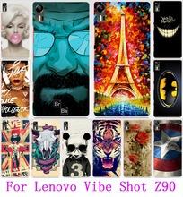 22 моделей популярных печатных телефон чехол Lenovo z90, Классный дизайн защитная оболочка кожи чехол для Lenovo атмосфера выстрел Z90