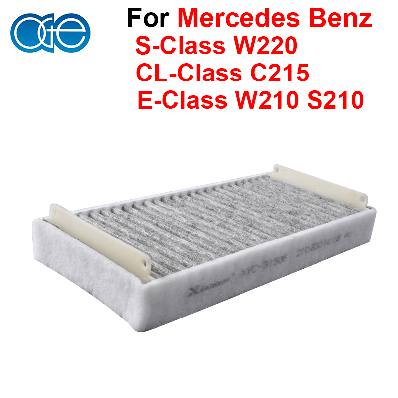 Car Parts Carbon Cabin Air Filter For Mercedes Benz E-Class W210 S210 S-Class W220 CL-Class C215 Accessories OEM 2108301018(China (Mainland))