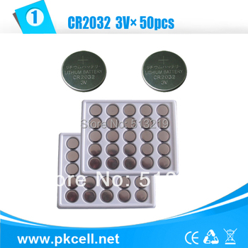 50Pcs CR2032 3V Lithium Button Coin Cell Battery For Watches,clocks,hearing aids,calculators,electronics calculator camera