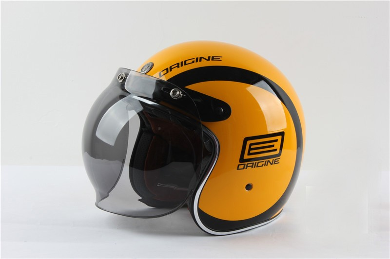 Women and Men Motorcycle 3/4 Helmets With Inner Len Retro Scooter Helmets casco moto With Free Goggle as Gift  DOT/ECE 8 Colors