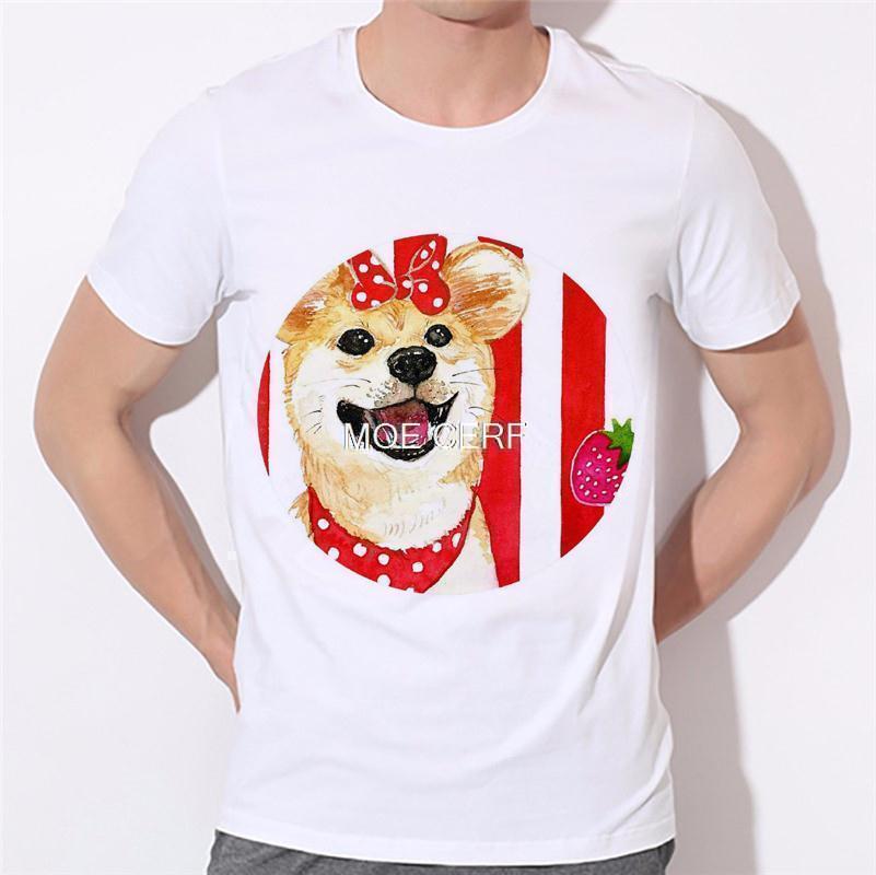 Dreams of becoming a lion dog pattern printing men's T-shirt 3D T Shirts Men Mens Tees Dog Pug Men t shirt Short Sleeves B-138#  HTB1AsCeKVXXXXXcaXXXq6xXFXXXa