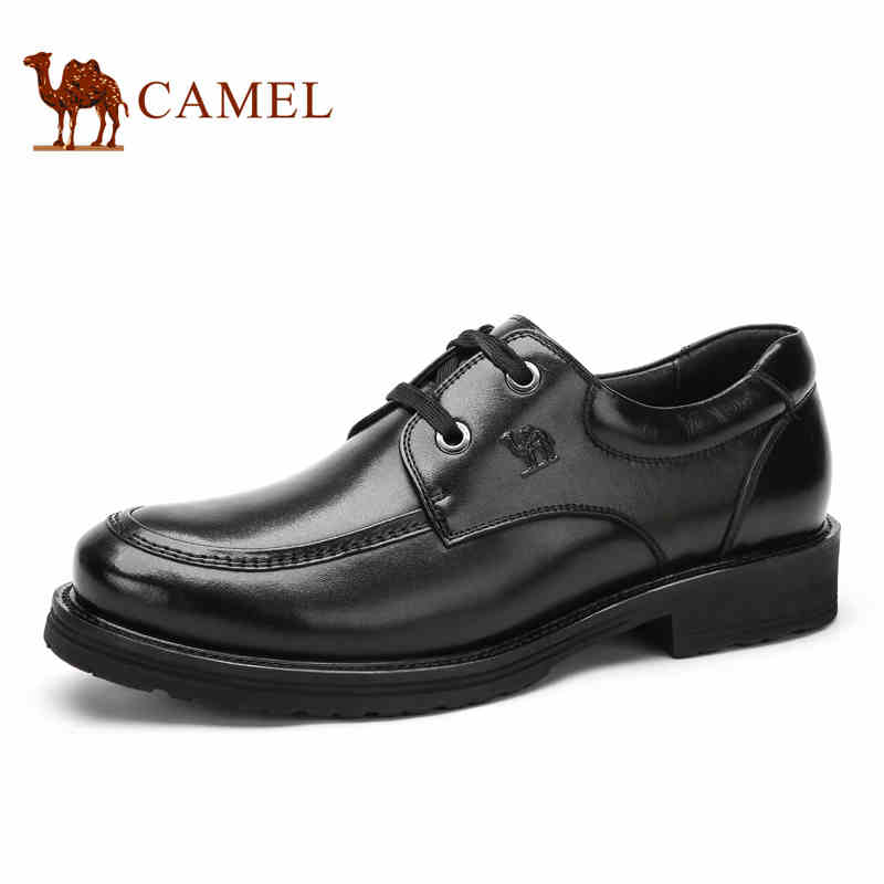 camel 100 genuine leather 2016 classical dress flat