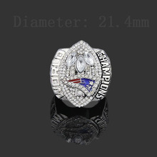 Alloy fine hot 2004 New England Patriots fan rings rings free shipping