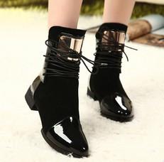 Гаджет  Autumn boots Genuine Leather 2015 Women