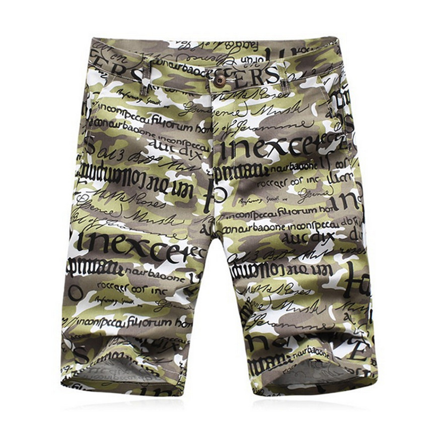 Men Summer Shorts Plus Size Camouflage Sport Trousers For Men Fashion Casual Cotton Slim Fit Fashion Beach Shorts F1924(China (Mainland))