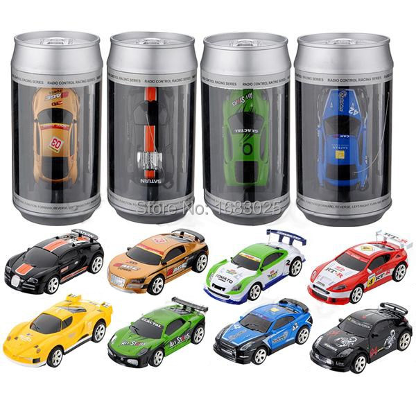 Brand New Mini Coke Can RC Radio Remote Control Micro Racing Car Hobby Vehicle Toy Birthday Gift(China (Mainland))