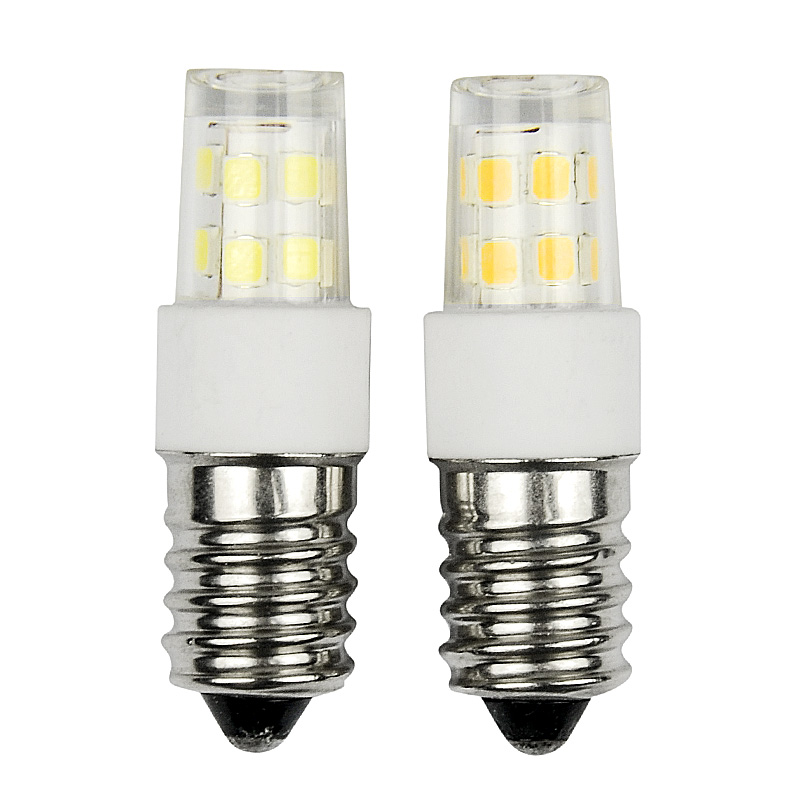 LED E14 Candle lamps Crystal Lighting 2835 SMD led lamp 17 51 76leds 220V white/ warm white Ceramics 2W 5W 7W ceiling lights(China (Mainland))