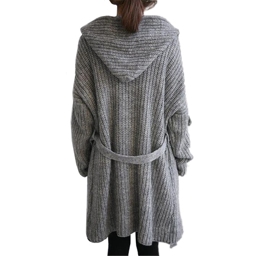 Knitting Pattern For Long Sweater Coat : Aliexpress.com : Buy Women Outerwear Coats Knitted Sweater Long Cardigan Jack...