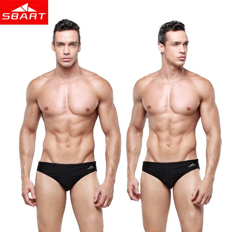 SBART Gay Swimwear Men Bikini Brand 2015 Mens Swim Briefs Lycra Sexy Men Swimwear Shorts Low Waist Swimming Trunks Plus Size 5XL(China (Mainland))