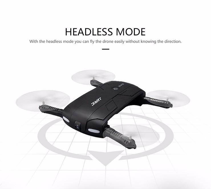 JJRC H37 Elfie Alitude Hold Wifi FPV 2MP Camera Foldable Pocket Drone RC Quadcopter
