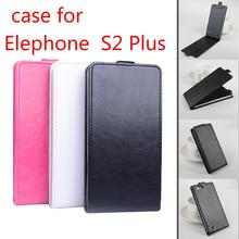 High Quality New Original ELEPHONE S2 Plus Leather Case Flip Cover for ELEPHONE S2Plus Case Phone Cover In Stock Free Shipping