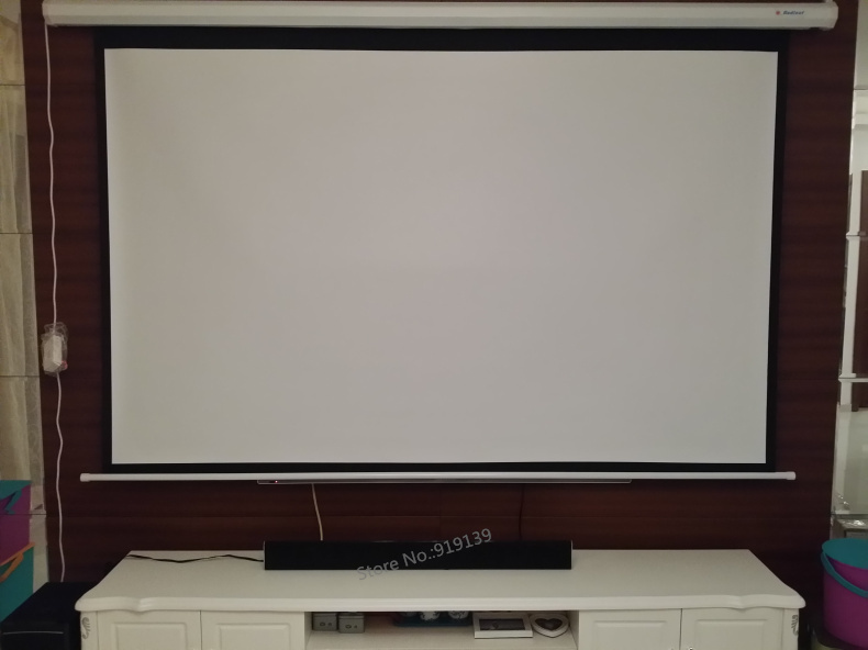 Electric projection screen pic 20