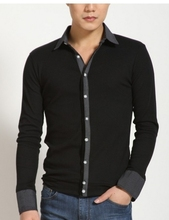 Free Shipping 2015  Autumn Spring Men long sleeve  Turn Down Collar Cardigan, Plus size men sweaters M L XL 2XL 3XL 4XL 5XL(China (Mainland))
