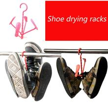 2016 Rushed Hanger Cintre Min Order Is $10drying Laundry Basket Hanging Shoe Rack Sun Drying Super Convenient 2 Pairs Of Shoes(China (Mainland))