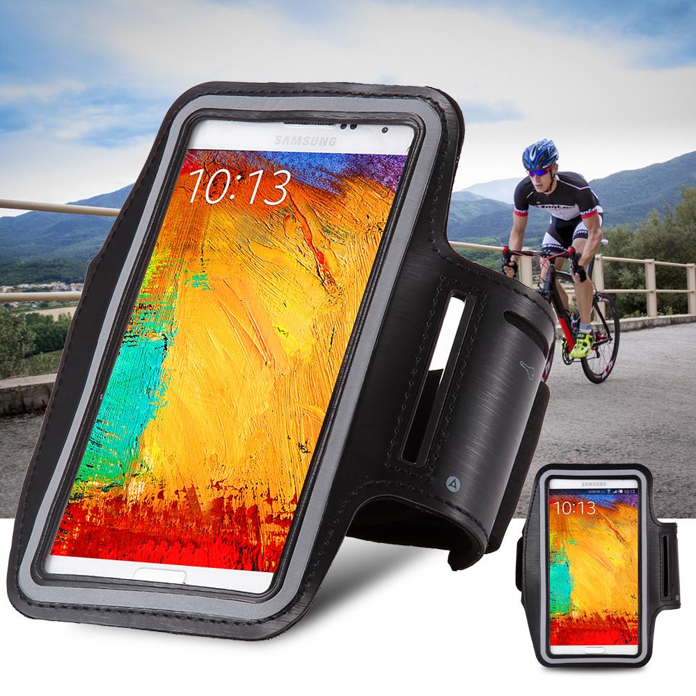 Note 1 2 3 4 Exercise Running SPORTS GYM Armband Bag Case for Samsung Galaxy Note II N7100 III N9000 N9005 IV N9100 Arm Band