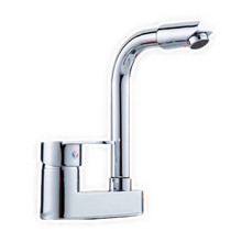 Buy Free Top dual hole solid brass kitchen sink faucet single handle zinc alloy kitchen sink water faucet for $28.47 in AliExpress store