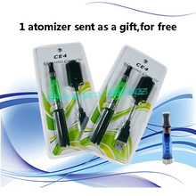 Buy 2 cigarette get 1atomizer for free!Electronic Cigarette EGO CE4 blister kit   Blister Kits ego battery ce4 atomizer
