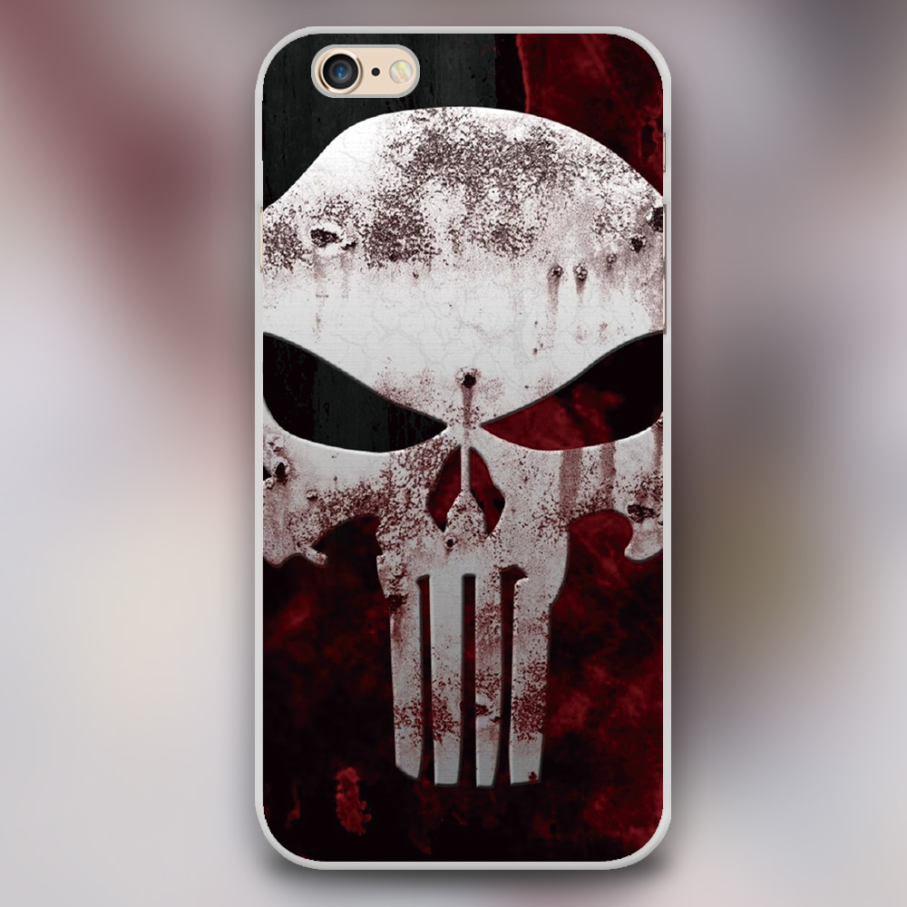 Luxury Punisher Mad Max Black skin plastic case cover cell phone cases for Apple iphone 4 4s 5 5c 5s 6 6s 6plus hard shell(China (Mainland))