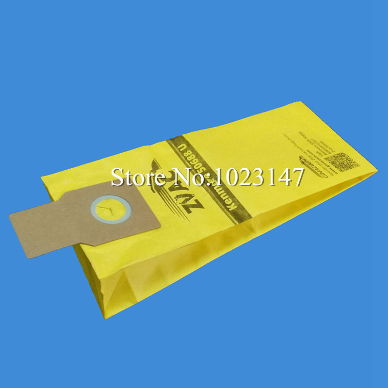 5 pieces/lot Vacuum Cleaner Filter Bags Paper Type U Dust Bag Replacement for Kenmore 50688 Miele Type Z(China (Mainland))