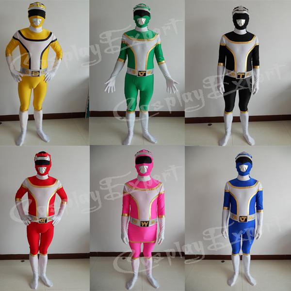 Power Dressing Colors 6 Colors Power Rangers Dai