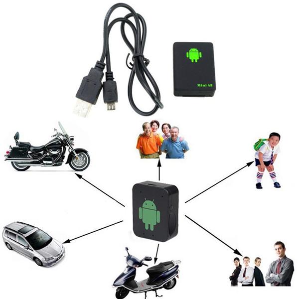 Portable Locator rastreador Mini Spy tools Vehicle Real Time Car Kids Pet GPS Tracker GSM/GPRS/GPS Tracking free shipping(China (Mainland))