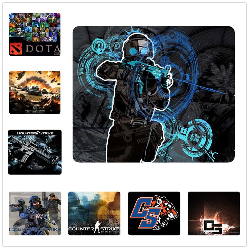 Hot sale counter strike gamer mouse pad custom personalized computer mouse mat for cs go wot lol dota2 fans gifts gaming carpet(China (Mainland))