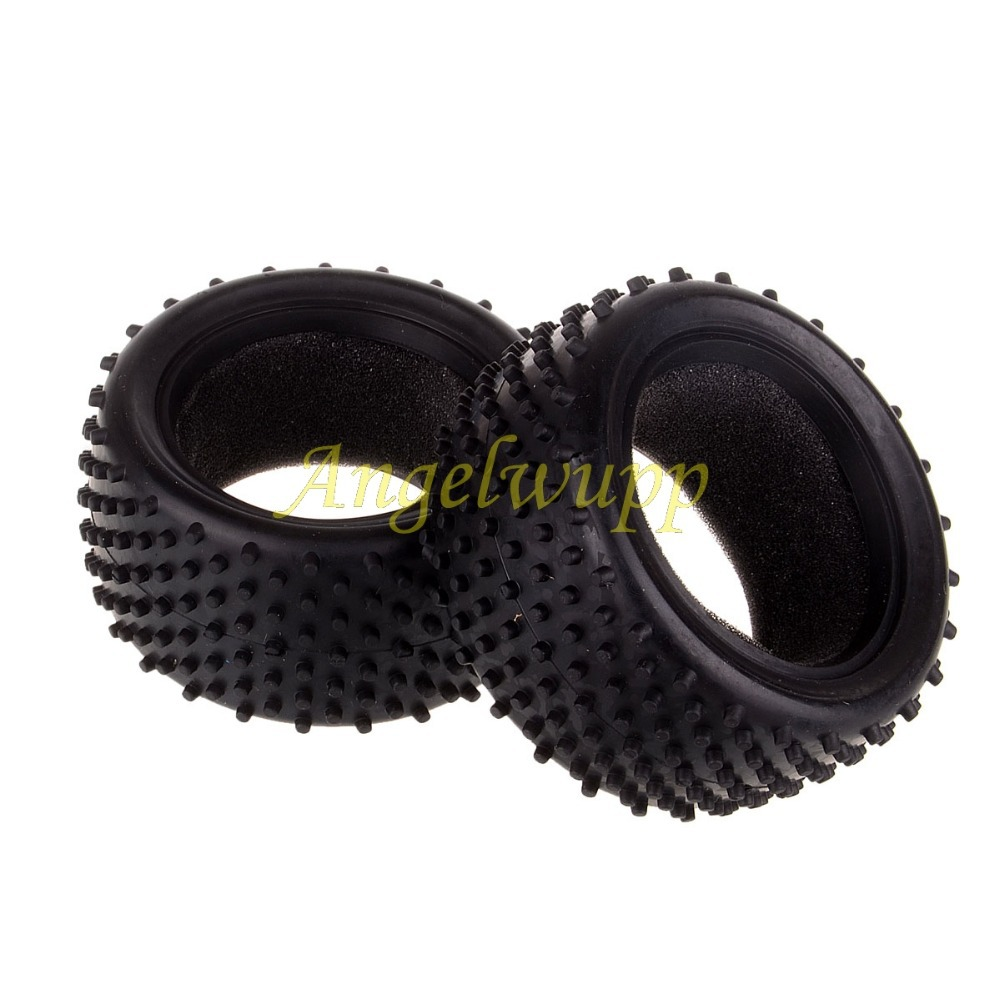06025 Rear Wheel Tyre 2p 1/10 Scale For HSP Himoto Nitro Electric RC Buggy(China (Mainland))