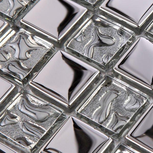 glass backsplash dekor. Black Bedroom Furniture Sets. Home Design Ideas