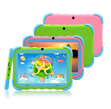 "Kids Education Original iRulu Brand 7"" Tablet PC for kids Quad Core Dual Camera A7 Android 4.2 8GB Free Game Learn Grow Play(China (Mainland))"