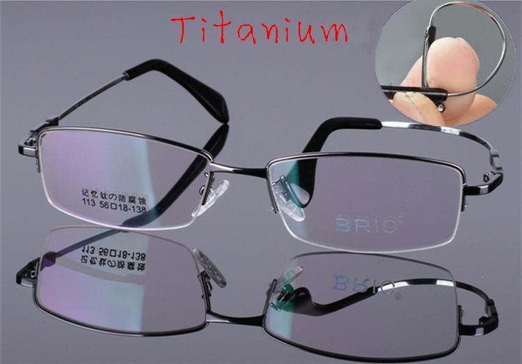 2015New fashion eyeglasses men computer glasses frame Titanium eye glasses optical frame brand oculos de grau gafas nerd glasses(China (Mainland))