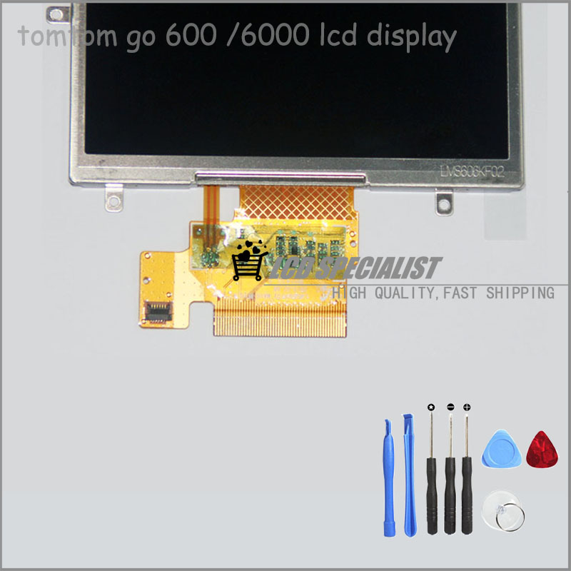 Parts for Tomtom go 600 6000 LCD Display Screen Panel Parts Replacement