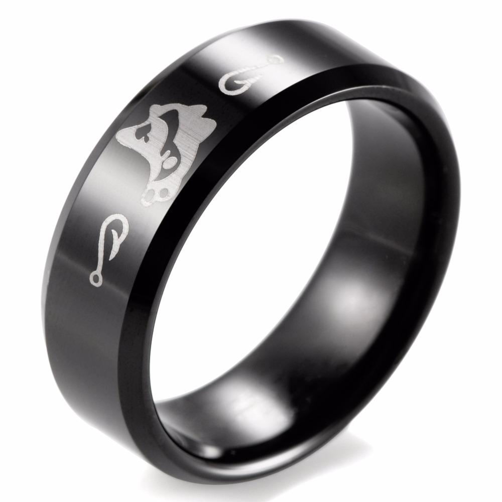 Popular fishing wedding bands buy cheap fishing wedding for Fishing wedding band