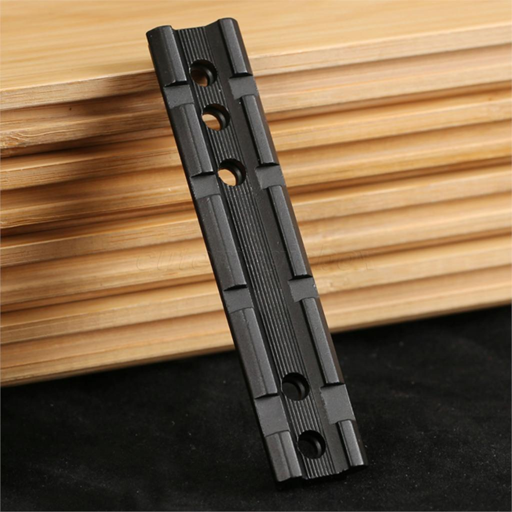 Hunting Tactical Adjustable Dovetail to Weaver 20mm Picatinny Rail Mount Base Adapter Scope Mount Converter 100mm Length Mounts(China (Mainland))