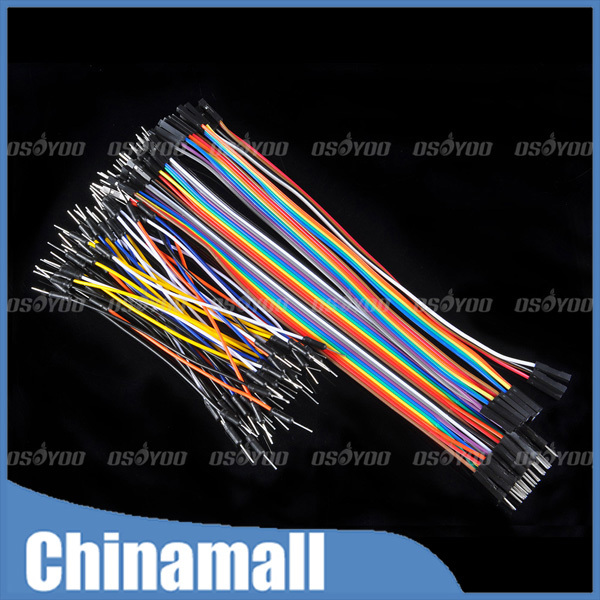 Гаджет  76PCS Jump Wires For Arduino Bread Board Jumpwires Jumper Wire Cable Free Shipping & Drop Shipping None Электронные компоненты и материалы