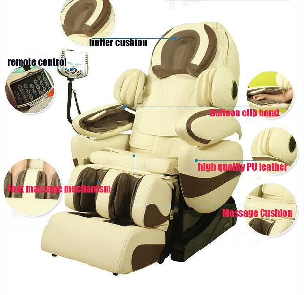 2016 new hot Home luxury full body automatic massage chair