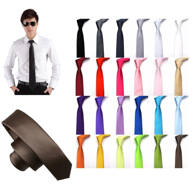 Hot Sale Women Men Unisex Neck Tie Smooth Polyester Monochrome Arrow Shaped Suit font b Accessories