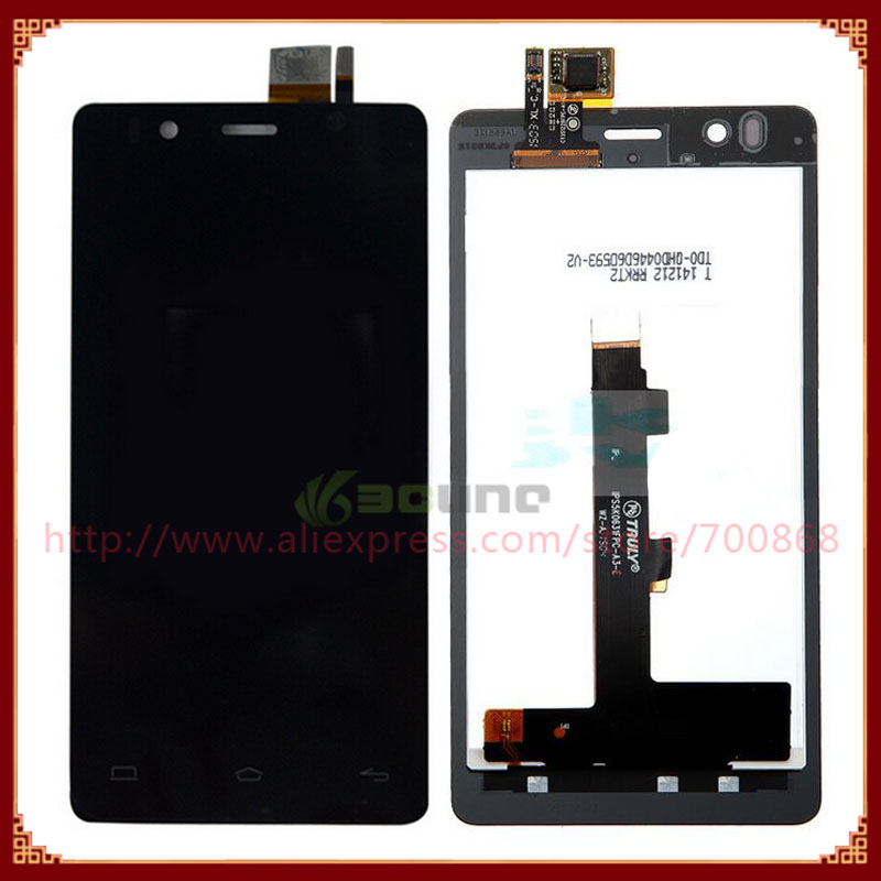 100% Original LCD Display and Touch Screen Digitizer Assembly For BQ Aquaris E4.5 Black Free Shipping