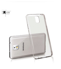 For Samsung NOTE2 case soft clear cover super thin TPU silicon gel Phone Case for NOTE2 N7100  thin transparent cover bags(China (Mainland))