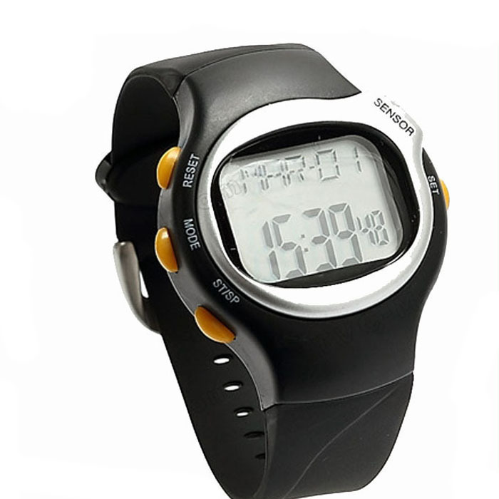 2015 Fashion Women Pulse Heart Rate Monitor Calories Counter Fitness Watch LED Digital Watches Mens Sports Wristwatch Top Brand(China (Mainland))