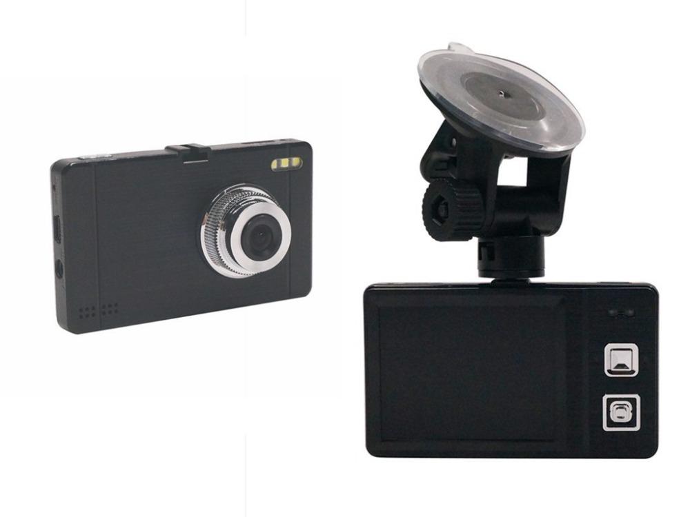 Cx76 2.4 дюймов TFT широкий угол однообъективных HD 720 P автомобиля черный ящик DVR с ночного видения черный