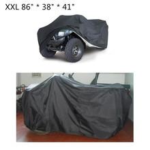 2016 New Quad Bike ATV Cover Black Water Resistant Dustproof Anti-UV Car ATV Kart Cover Size  L 2m XXL 2.2m 3XL 2.56m Optional(China (Mainland))