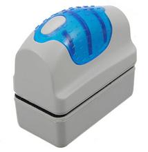 New Arrive Magnetic Aquarium Fish Tank Glass Algae Scraper Cleaner Floating Clean Brush(China (Mainland))