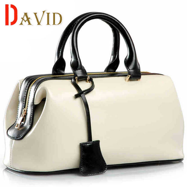 Genuine leather bags ladies real leather bags handbags women famous brands designer handbags high quality tote bag for women A8(China (Mainland))