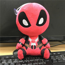2016 Marvel Movie Lovely Mini Deadpool Soft  Plush Doll Toy Figure 20CM Kids Toys Gift(China (Mainland))