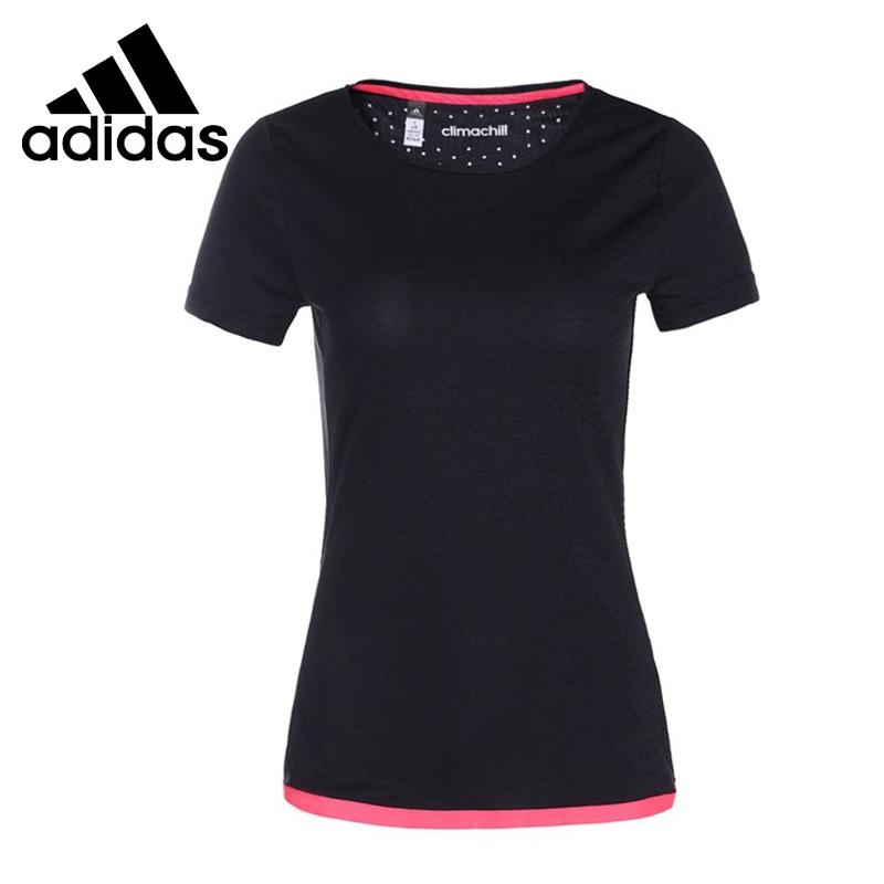 100% Original 2015 New Adidas womens short sleeve T-shirts S24509/S24508/S22687 Sportswear free shipping <br><br>Aliexpress