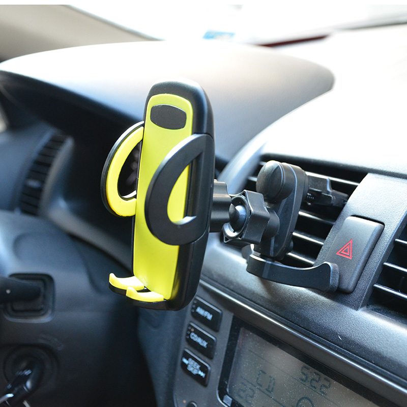 2015New Portable Holder In Car Bracket Stand Air Vent Mount For your iPhone 6/6 Plus mobile cell phone support telephone voiture(China (Mainland))