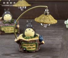 Abajur Christmas Lights A Wei Zakka Home Furnishing Lovely Forest Totoro Cartoon Chinchillas Small Lamp Nightlight Led Bedside (China (Mainland))